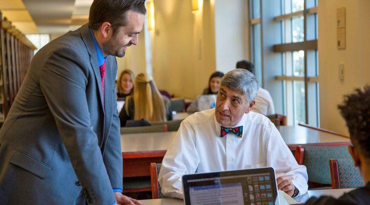 Professor Mario Mainero leads Chapman's bar exam preparation program.
