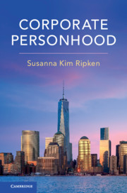 Corporate Personhood cover