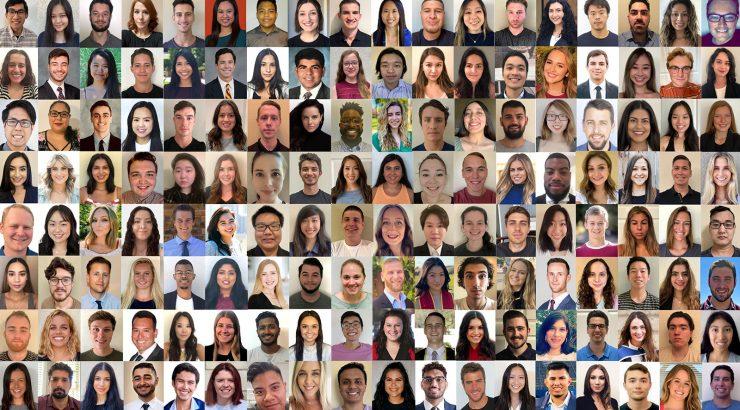 Law student portraits