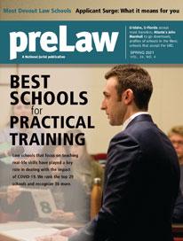 preLaw magazine cover