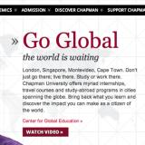 Global Screen Shot of new website
