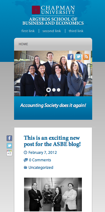 ASBE blog Screenshot