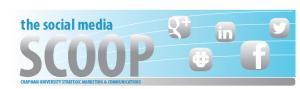 Social Media Scoop banner