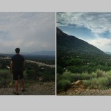 before and after photo editing