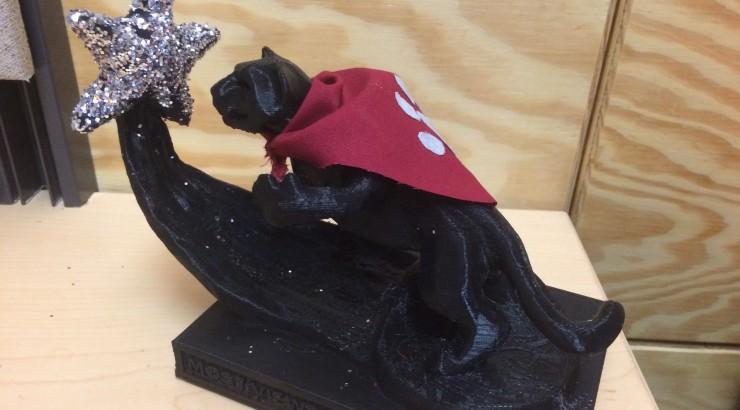 Panther Award Statue