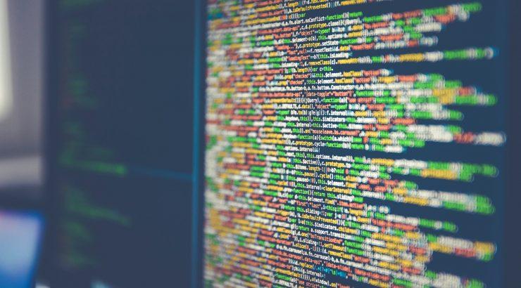 Markus Spiske photo of code