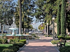 Old Towne Orange Plaza Fountain
