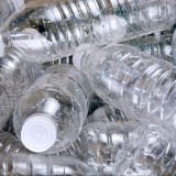 pile of empty water bottles