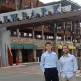 Retzer and Eggleton at Newpark Resort
