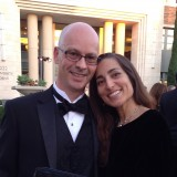 Pat at a recent Chapman event with wife (and fellow Chapman grad) Lori
