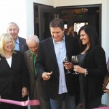 Waters Edge Wineries' Rancho Capistrano Winery ribbon cutting ceremony in San Juan Capistrano.
