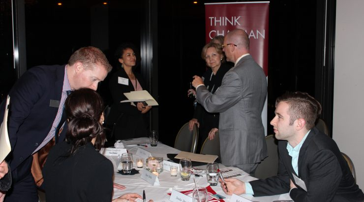 alumni networking roundtable attendees network 2017-01-18