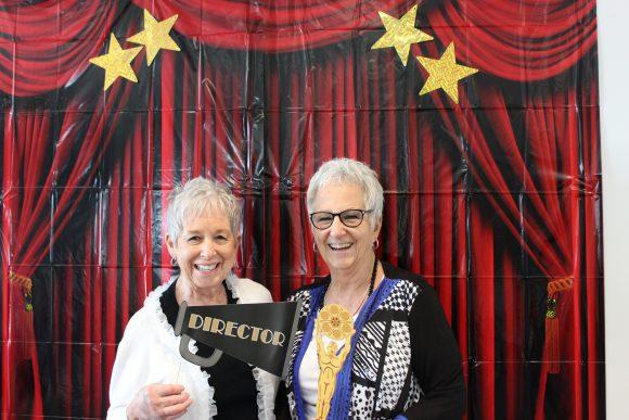 Barbara Parker and Linda Mueller