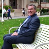 carl hill on bench