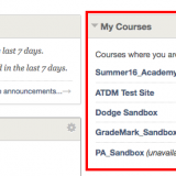 When Will Fall Courses be Available in Blackboard?
