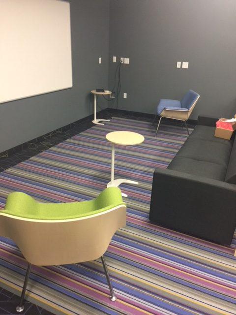 lounge in Tech Hub