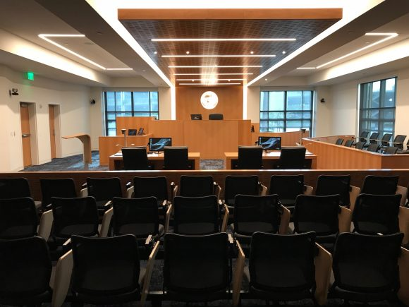 Wylie Aitken court room