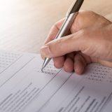 Pen and paper survey