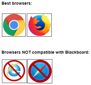 Supported browsers chrome firefox