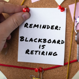 Reminder: Blackboard is Retiring