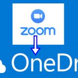 Zoom2onedrive
