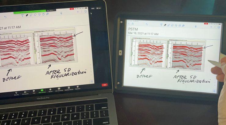 iPad screen sharing into Zoom