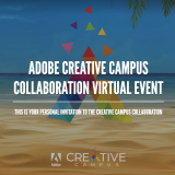 Adobe Creative Campus Collaboration Virtual Event