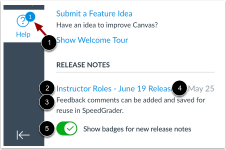 canvas help menu view release notes