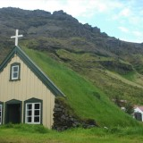 Church w-sod roof