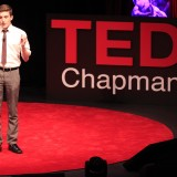 Mark Pampanin '15 speaks at TEDxChapmanU.