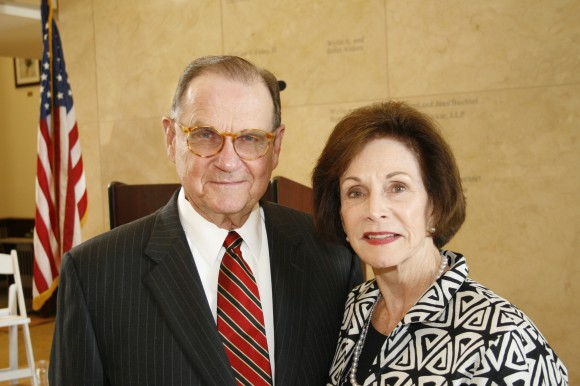Dale E. Fowler '58 and his wife of 52 years, Sarah Ann.