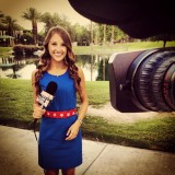 """You have to bea perfectionist,"" Samantha Cortese '11 says of her work as a TV news reporter."