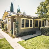 The 1924, three-bedroom bungalow is just over 1,000 square feet.