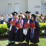Four at Commencement