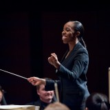Conductor Kalena conducts