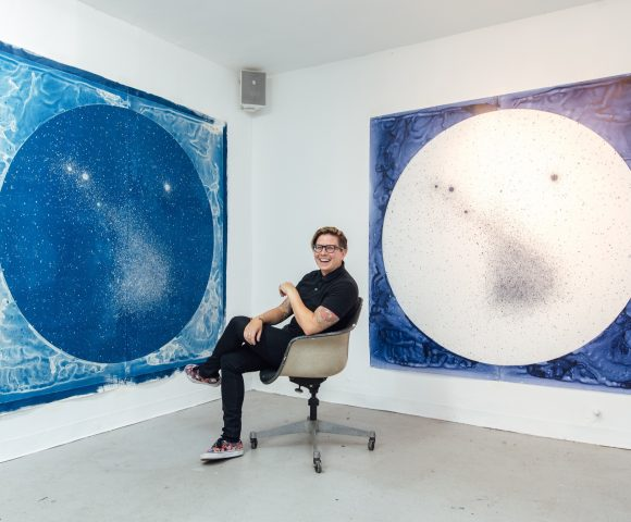 Into the Blue - Lia Halloran's art explores universal