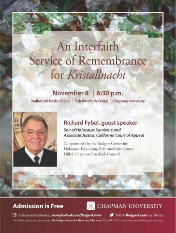 Flyer for November 8 Event