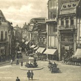 Historic image of Bucharest, World War II