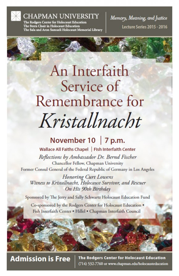 interfaith kristallnacht flyer