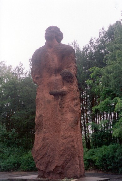 Statue at Sobibor Site