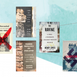 Five covers of books by guest speakers