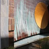 image of the Sun Fountain at the Fish Interfaith Center