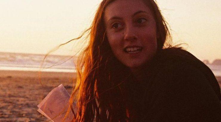 Image of Esme on the beach