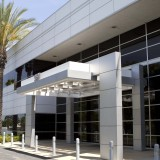 Exterior photo of the Rinker campus