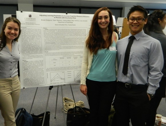 Students present their research at Student Research Day