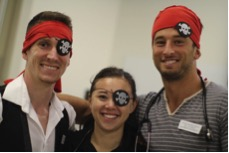 Students dressed as pirates