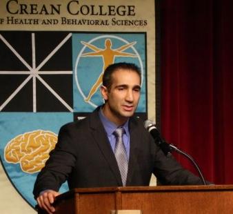 Speaker at the DPT White Coat Ceremony