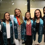 Undergraduate Award Winners in their Crean stoles