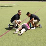 Athletic Training Students Revive a Passed Out Runner