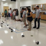 Teachers participating in the Chapman Anaheim Science Project